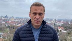 Navalny regresa a Rusia a pesar de la amenaza de detención y pide a sus seguidores que acudan a recibirlo
