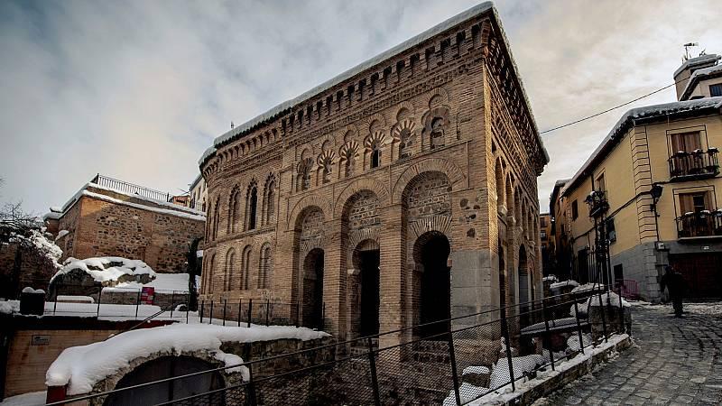 El temporal provoca daños en el patrimonio arquitectónico de Toledo