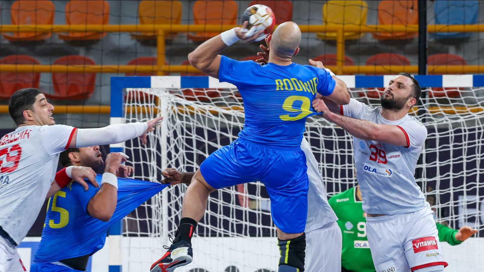 Balonmano - Campeonato del Mundo masculino: Túnez - Brasil - ver ahora