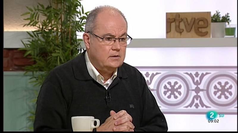 Gemma Nierga entrevista Antoni Trilla, Antoni Trilla, cap de Medicina Preventiva Hospital Clínic, al Cafè d'idees