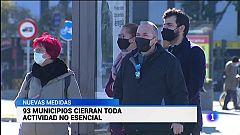Primer día laborable con las nuevas medidas en Andalucía