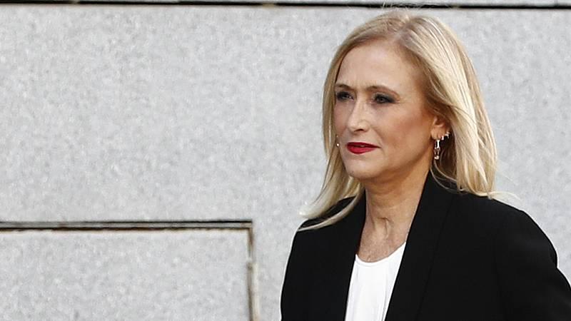 Cristina Cifuentes se sienta en el banquillo por el caso Máster
