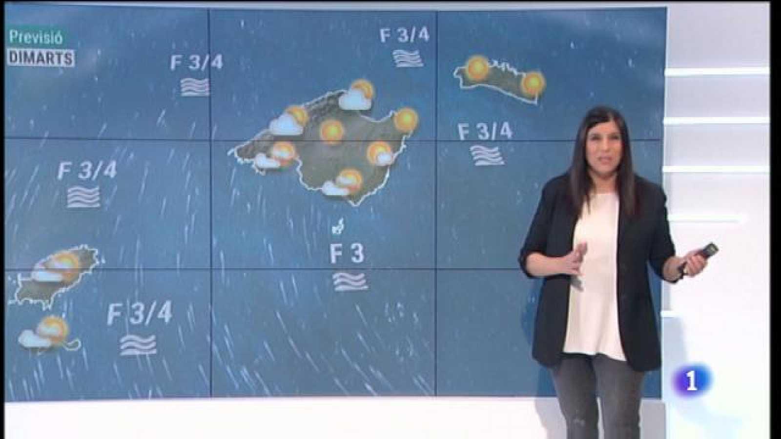 El temps a les Illes Balears - 18/01/21