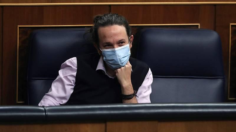 """Podemos niega que Iglesias equiparara a Puigdemont con los exiliados franquistas, pero mantiene: """"Como dice la RAE, exiliado es tanto uno como los otros"""""""