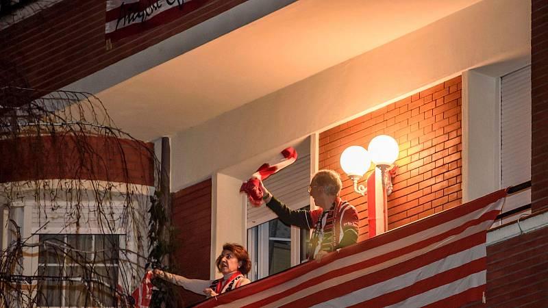 Bilbao recibe a los héroes de la Supercopa de España