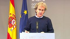 Especial informativo - Coronavirus. Comparecencia de Fernando Simón - 18/01/21