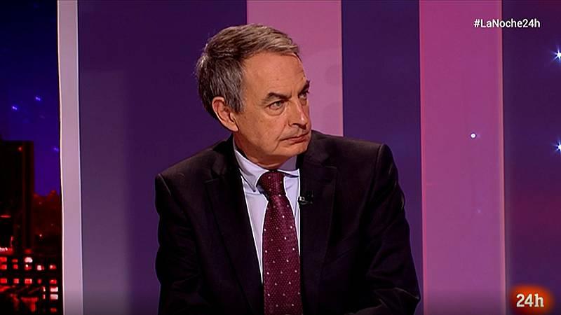 """Zapatero: """"No soy partidario de abrir un proceso de investigación sobre el rey emérito en el Parlamento"""""""