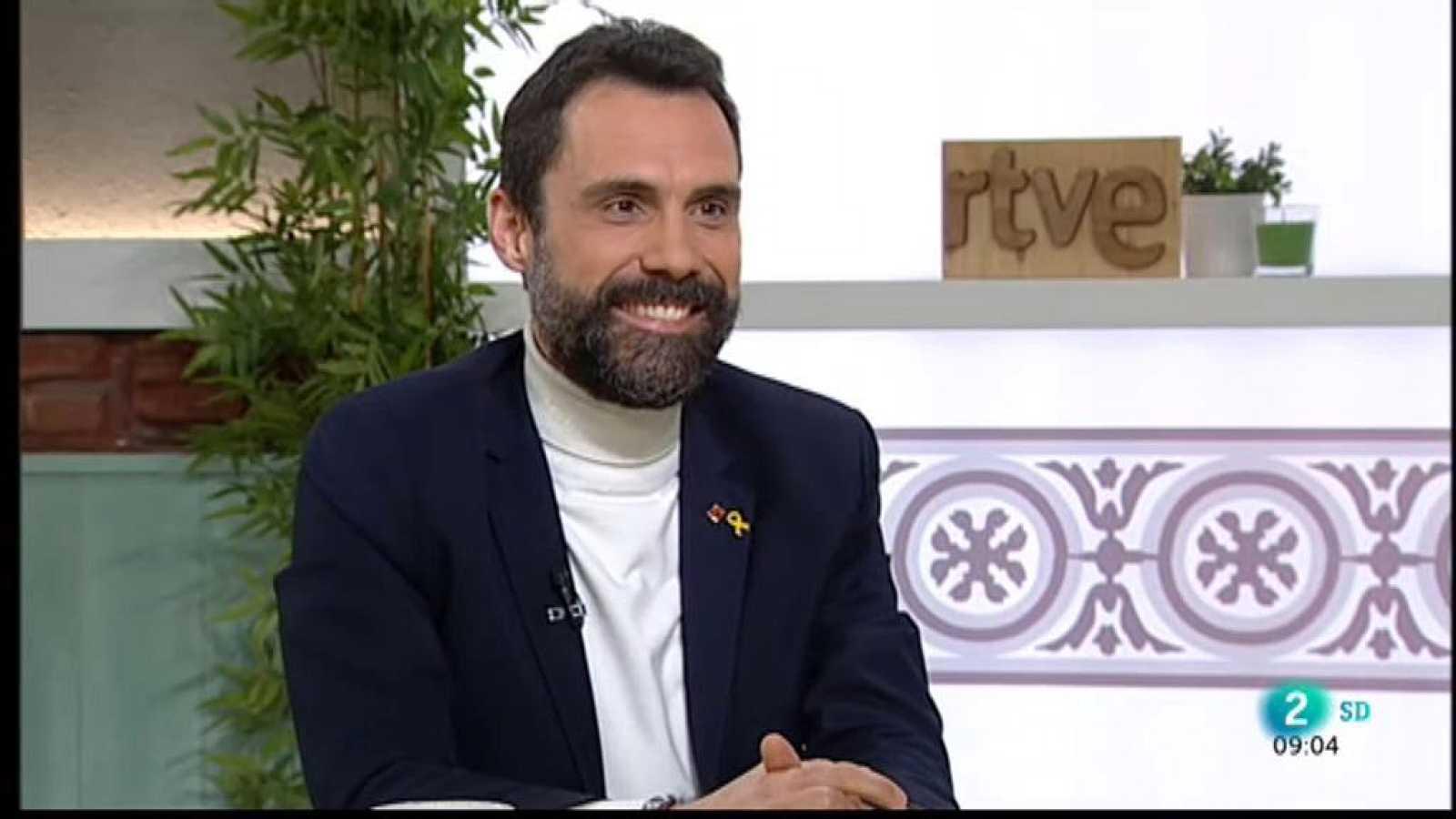 Roger Torrent, president del Parlament de Catalunya