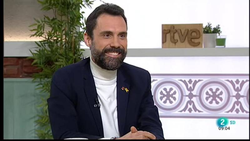 Roger Torrent, president del Parlament de Catalunya