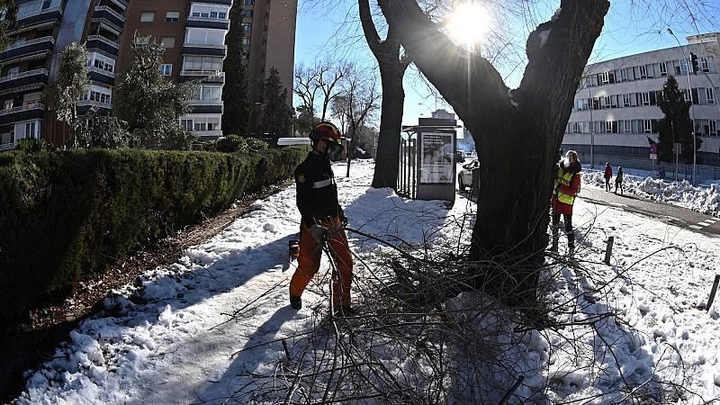 El Gobierno declara la zona catastrófica para Madrid y el resto de territorios afectados por Filomena