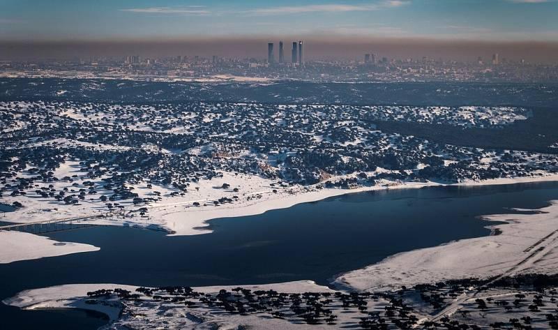 ¿Tiene relación Filomena con el calentamiento global?