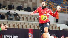 Balonmano - Campeonato del Mundo masculino: España - Túnez