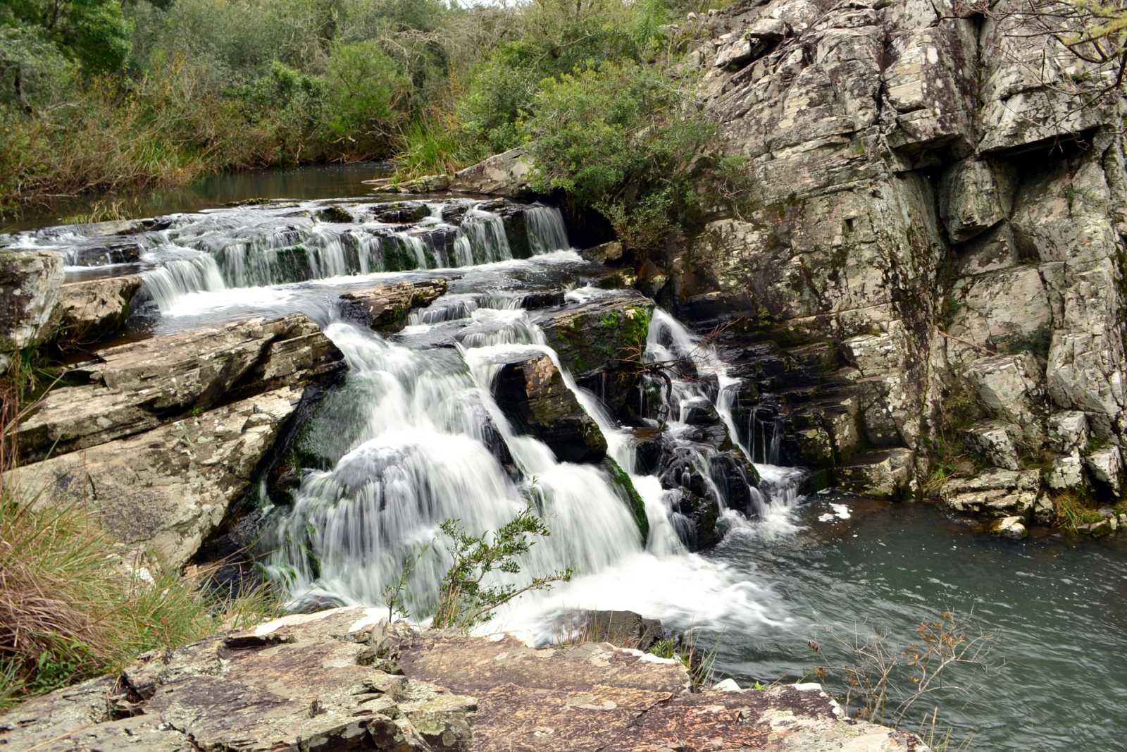 España Directo - El nacimiento congelado del río Cuervo, en Cuenca