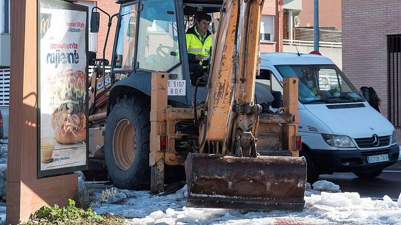 Madrid se prepara para evitar las inundaciones de la lluvia de los próximos días