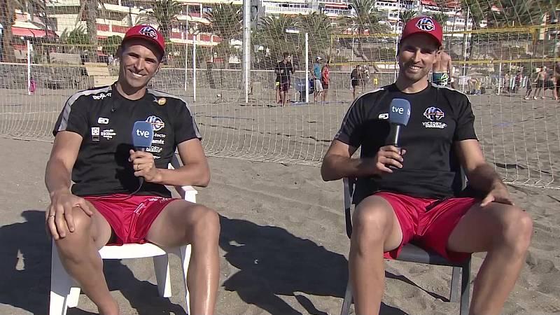 Objetivo Tokio - Programa 127: Pablo Herrera y Adrián Gavira, jugadores de Voley Playa - ver ahora