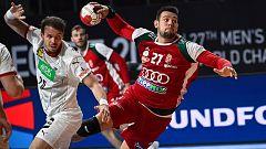 Balonmano - Campeonato del Mundo masculino: Alemania - Hungría