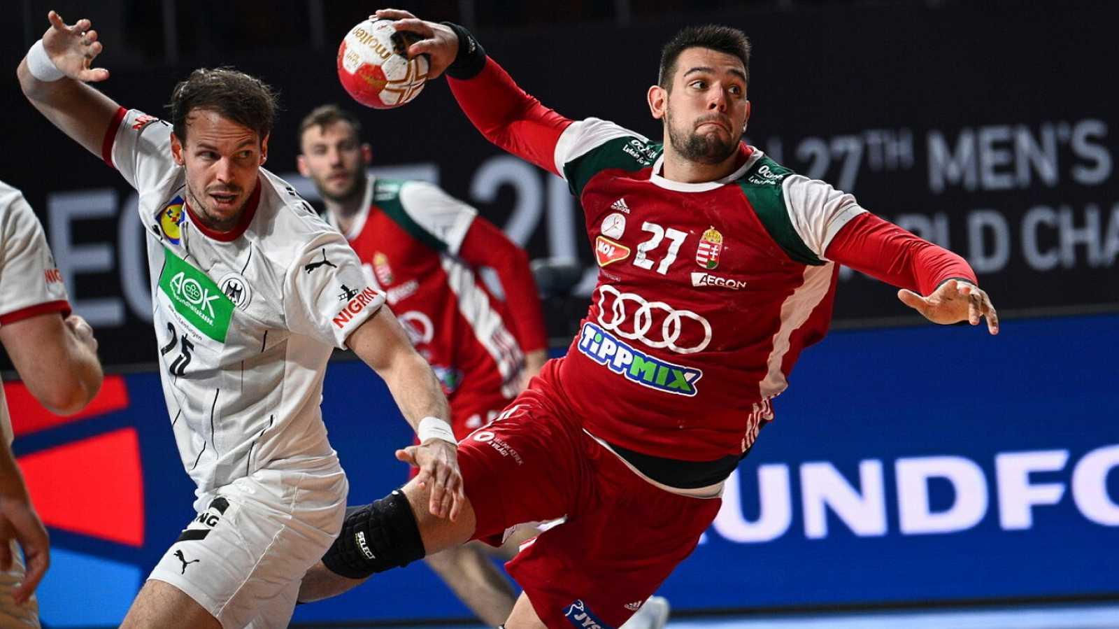 Balonmano - Campeonato del Mundo masculino: Alemania - Hungría - ver ahora