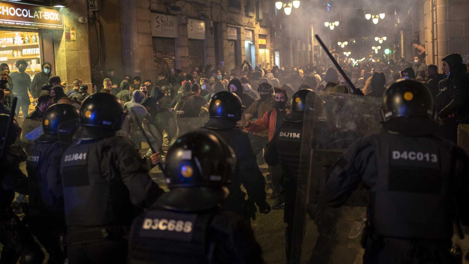 Las agresiones a la Policía se disparan en tiempos de pandemia