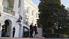 Trump abandona Washington mientras Biden celebra su primer acto en la capital antes de tomar posesión