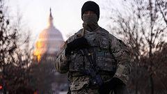 Controles militares y por la COVID-19 y acceso muy restringido para seguir la toma de posesión de Biden