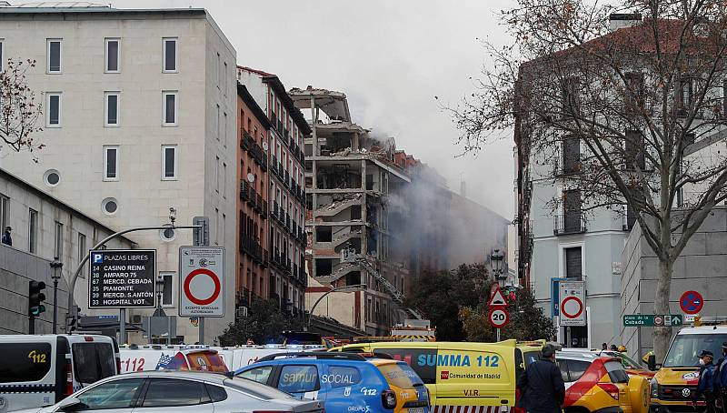 """Irene Cacabelos, testigo de la explosión en Madrid: """"Vimos caer cascotes del cielo"""""""