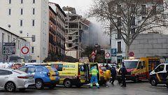 """La explosión en Madrid no deja heridos en la residencia de mayores cercana: """"Están todos bien"""""""