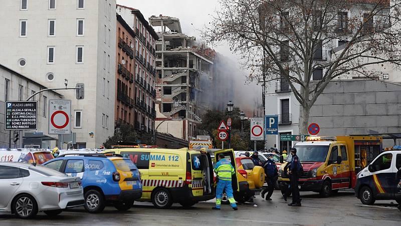 """La explosión en Madrid no deja heridos en la residencia cercana: """"Están todos bien"""""""