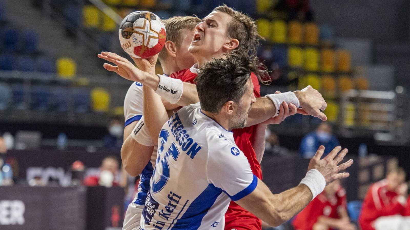 Balonmano - Campeonato del Mundo masculino. 2ª fase: Suiza - Islandia - ver ahora