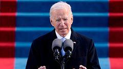 """Biden llama a la """"unidad"""" en su primer discurso como presidente de Estados Unidos"""