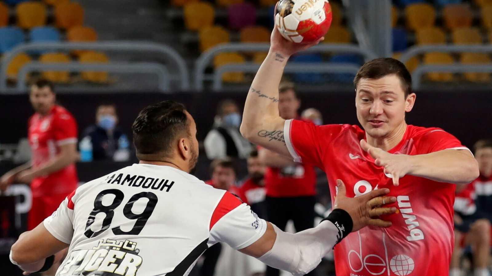 Balonmano - Campeonato del Mundo masculino. 2ª fase: Rusia - Egipto - ver ahora