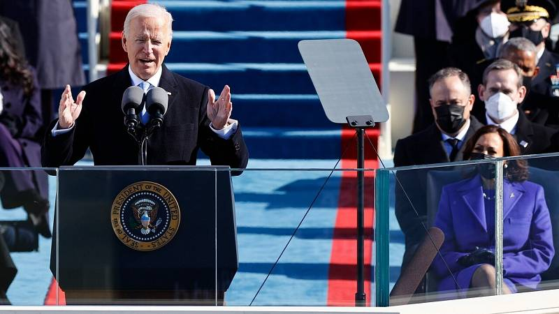 Biden llama a la unidad en su discurso como presidente de EE.UU.