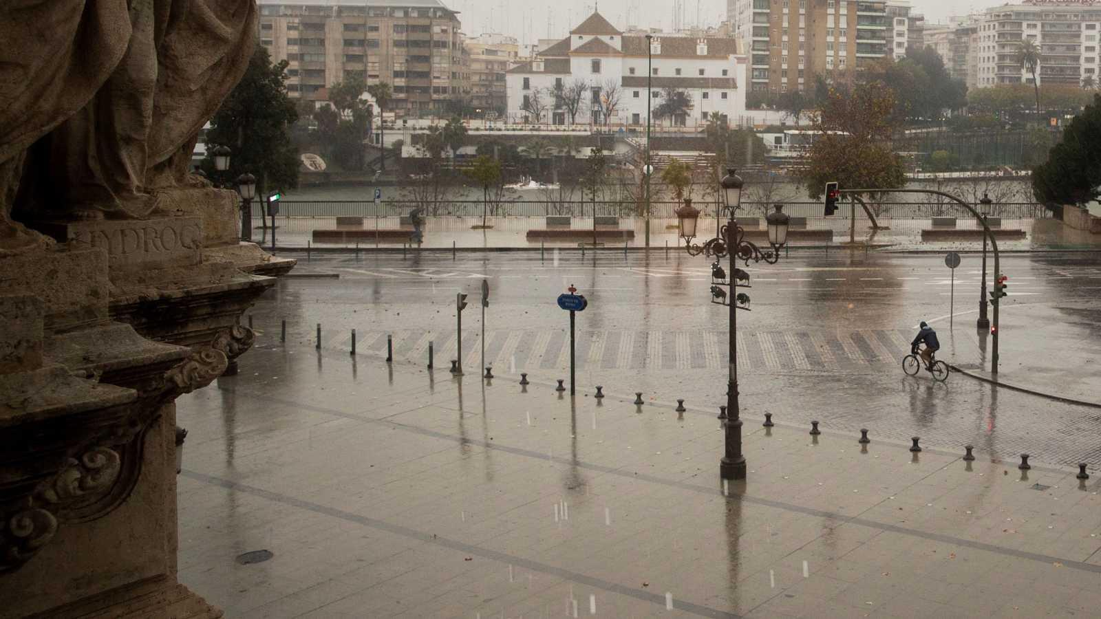 Precipitaciones en las vertientes atlántica y cantábrica