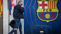 Los tres candidatos a la presidencia del Barça se reúnen con Koeman