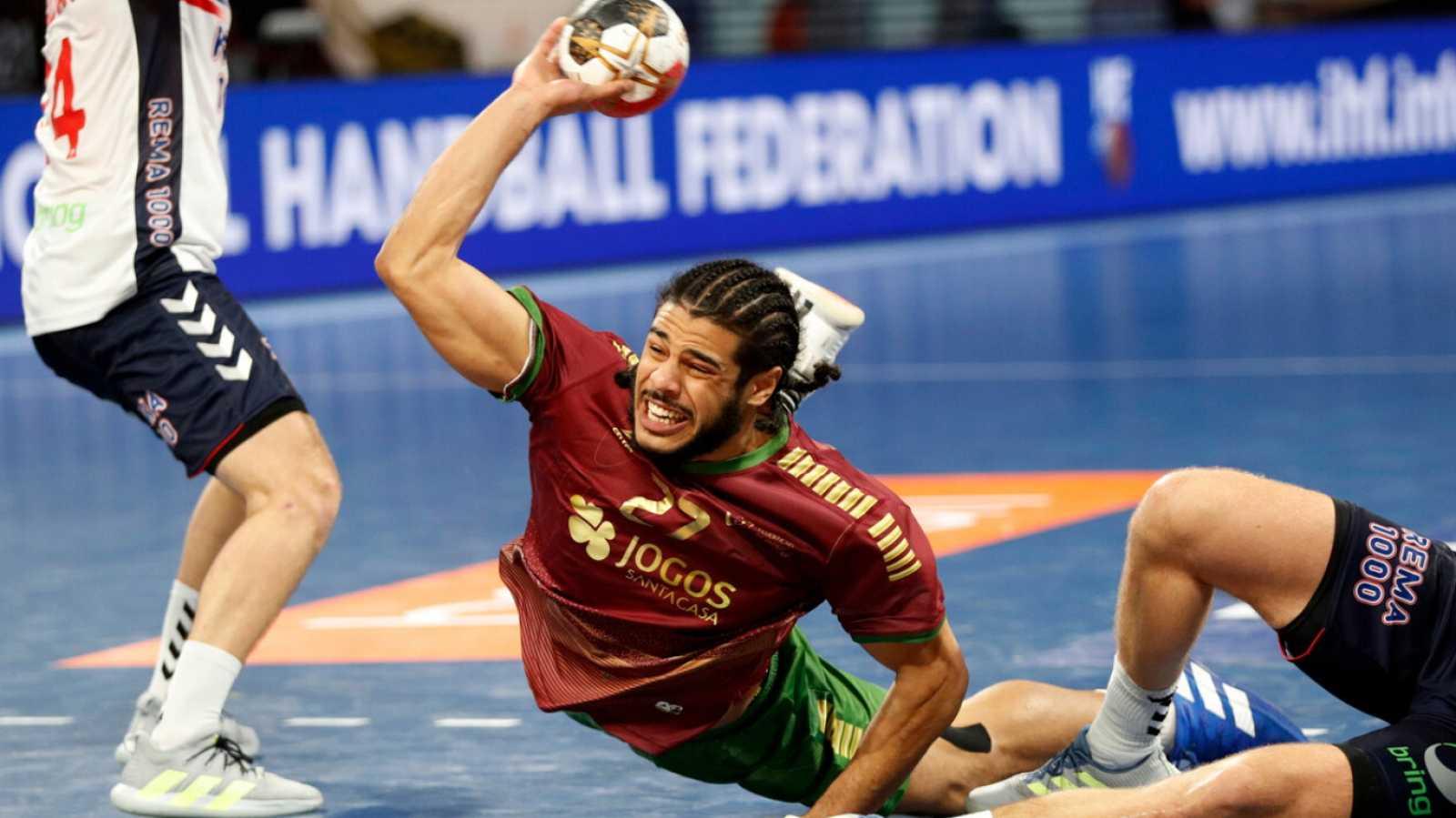 Balonmano - Campeonato del Mundo masculino. 2ª fase: Portugal - Noruega - ver ahora
