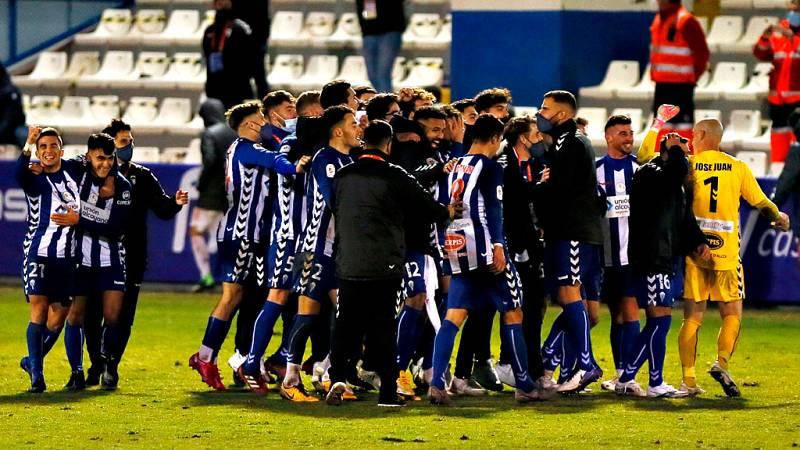 El Alcoyano deja KO al Real Madrid en Copa