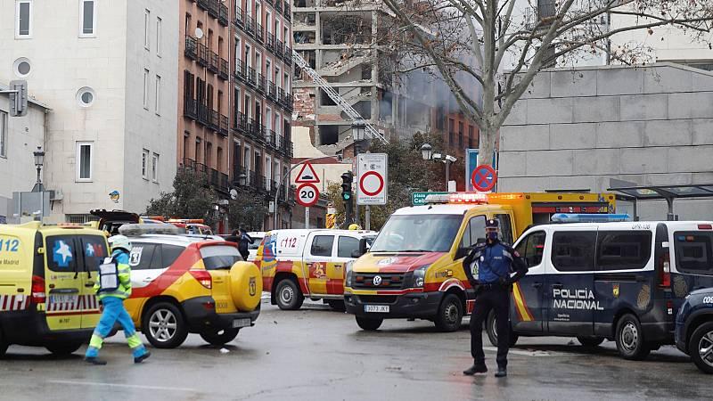Aumentan a cuatro los fallecidos en la explosión de Madrid tras la muerte de un sacerdote