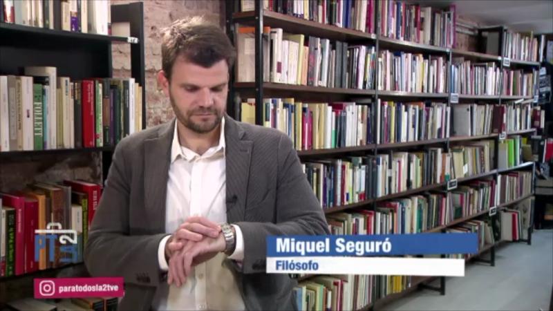 El valor del tiempo según la filosofía con Miquel Seguró