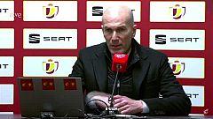 """Zidane: """"La eliminación no es una vergüenza, pasará lo que tenga que pasar"""""""