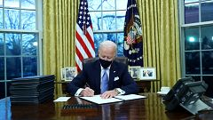 Así ha entrado Joe Biden en la historia de EE.UU.