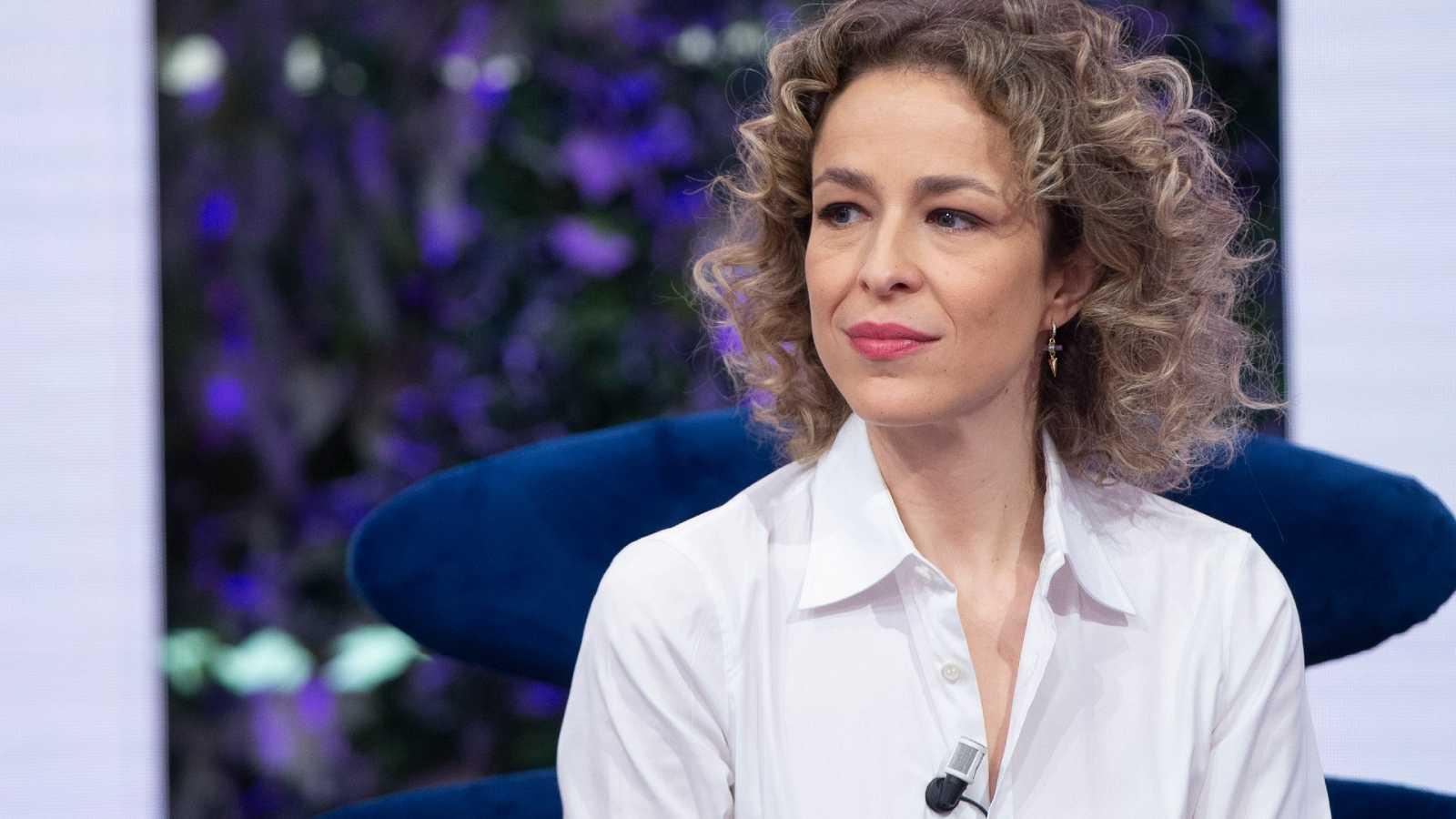 Silvia Abascal en La Hora de la 1 de TVE