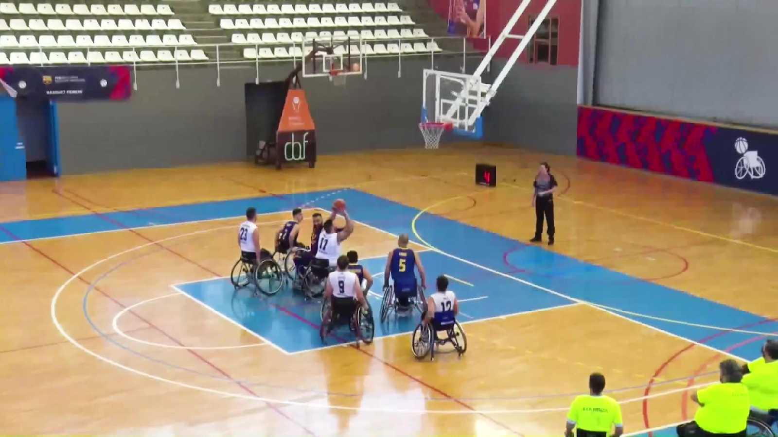 Baloncesto en silla de ruedas - Liga BSR división de Honor. Resumen jornada 9 - ver ahora