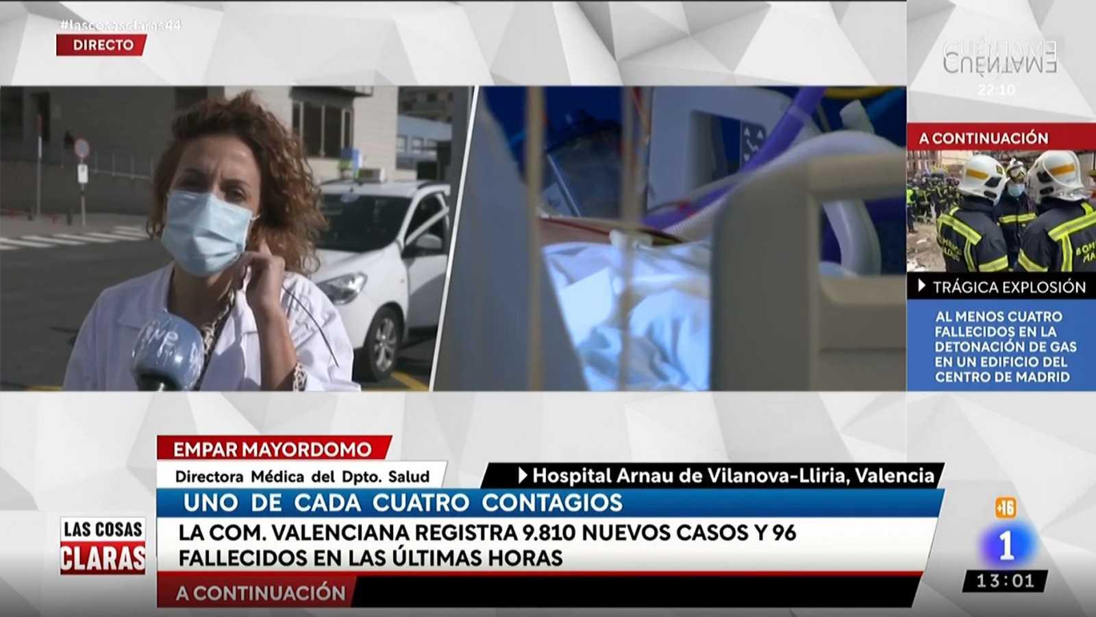 """La directora del hospital Arnau Vilanova-Lliria de Valencia urge al autoconfinamiento: """"Estamos cerca de no poder atender más casos"""""""
