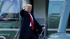 Trump dice adiós a la Casa Blanca
