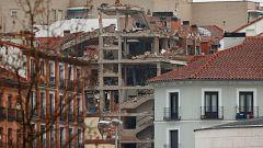 Caos y pánico por la explosión en el centro de Madrid