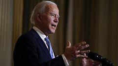 Joe Biden jura el cargo en una ceremonia sobria y llena de simbolismo