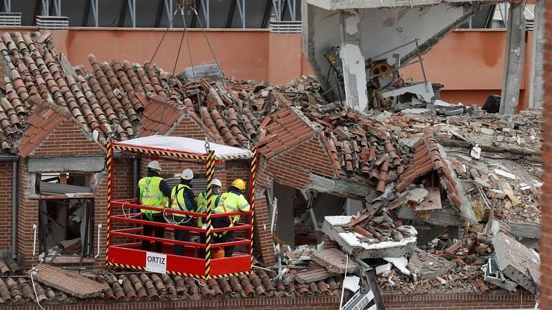 Los afectados por la explosión de Madrid, a la espera de poder volver a sus casas