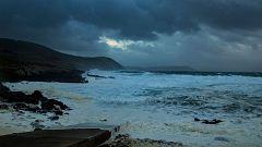 Precipitaciones localmente fuertes o persistentes en el oeste de Galicia