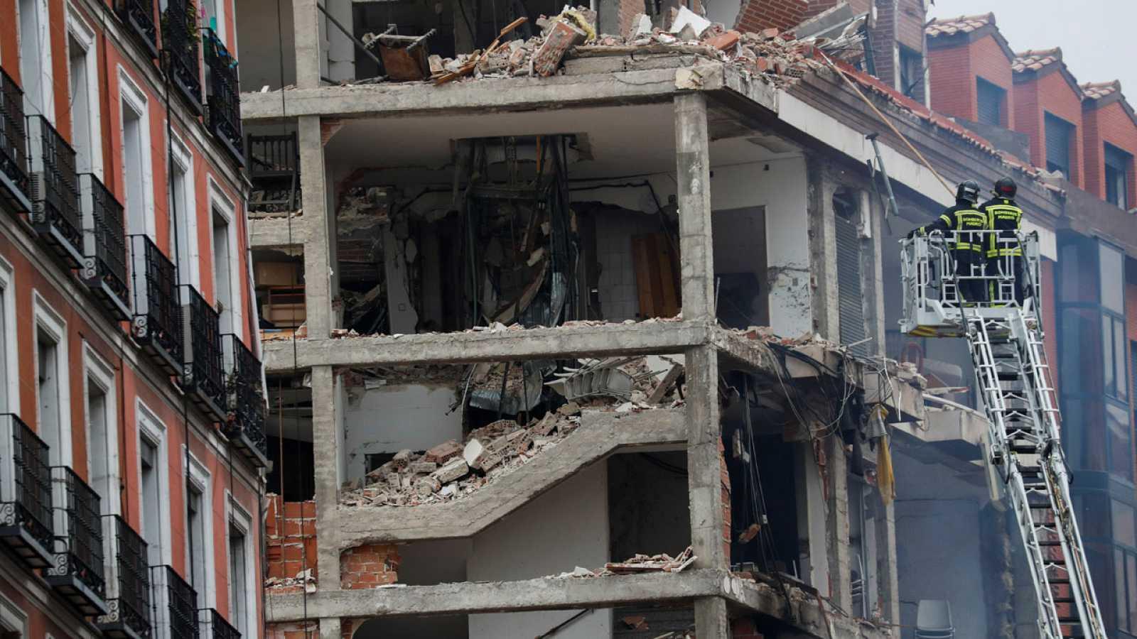 El barrio de La Latina se recupera lentamente del susto provocado por la explosión