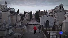 Obrim fil - Ana Boadas i Sebastià d'Arbó, al cementiri