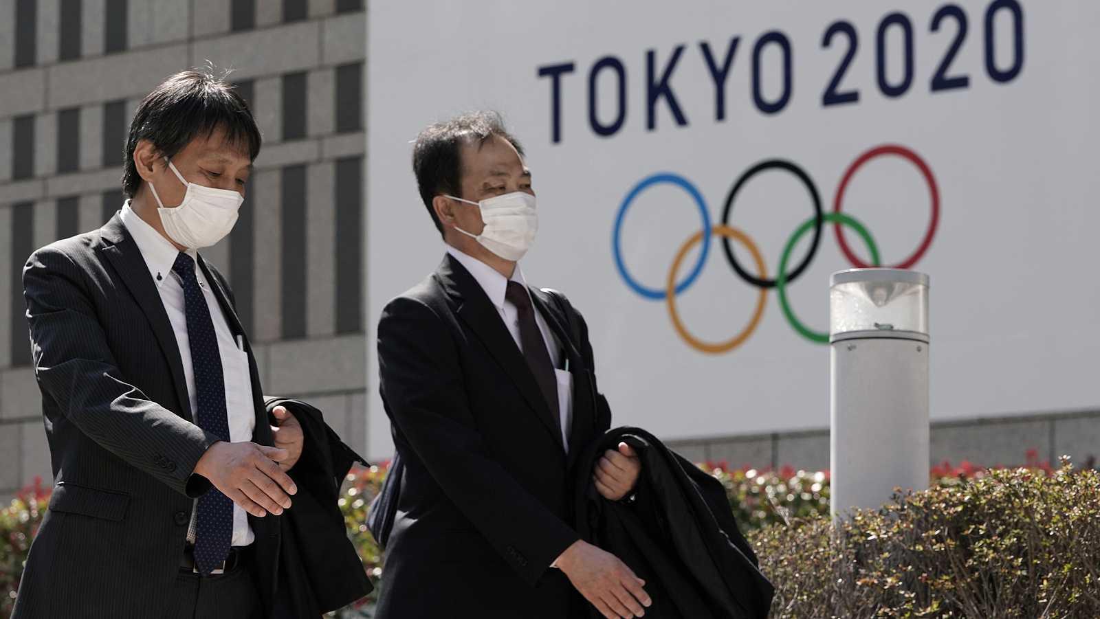 Los Juegos de Tokio, en el aire